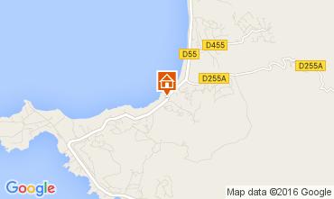 Map Porticcio Villa 103940