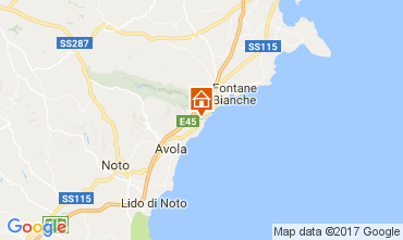 Map Avola Villa 109708