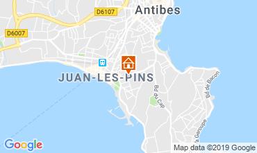 Map Antibes Apartment 16441