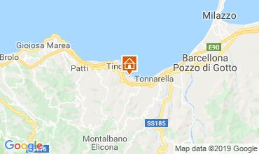Map Oliveri Apartment 95950