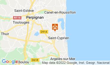 Map Saint Cyprien Villa 116936