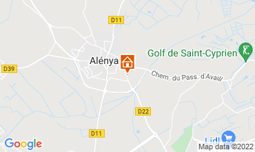 Map Saint Cyprien Villa 116936
