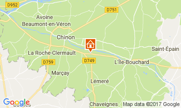 Map Chinon House 112374