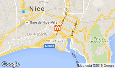 Map Nice Apartment 102844