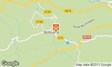 Map Bolquère Pyrenées 2000 Apartment 67250