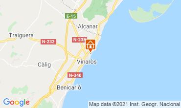 Map Vinaròs Villa 103036