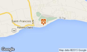 Map Saint Francois Bungalow 8957