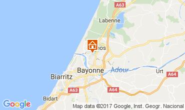 Map Bayonne Villa 108315