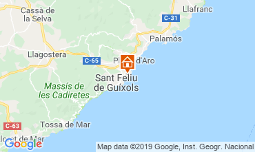 Map S'Agaró Apartment 118840
