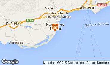 Map Roquetas de Mar Apartment 49476