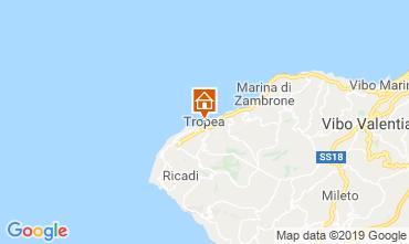 Map Tropea Apartment 114211