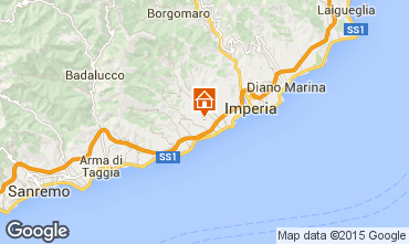 Map Imperia Villa 100570