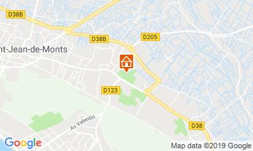 Map Saint Jean de Monts Mobile home 118961