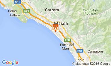 Map Marina di Massa Apartment 70724
