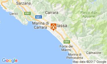 Map Marina di Massa Apartment 72642