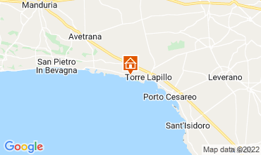 Map Porto Cesareo Apartment 84862