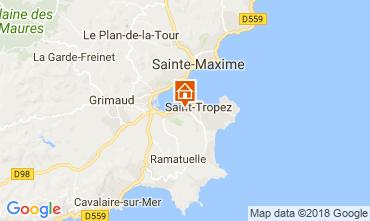 Map Saint Tropez House 95795