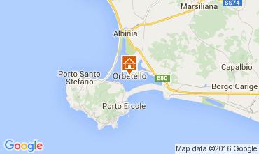 Map Orbetello Apartment 103697