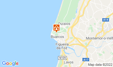 Map Figueira da Foz Bed and breakfast 11824