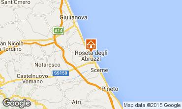 Map Roseto degli Abruzzi Apartment 53920