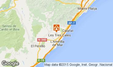 Map La Ametlla de Mar Villa 59886