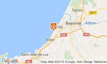 Map Biarritz Apartment 6379