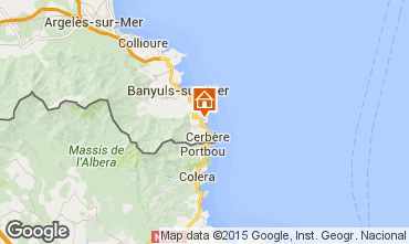 Map Banyuls-sur-Mer Apartment 71534