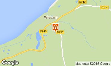 Map Wissant House 63412