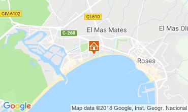 Map Rosas Apartment 117295
