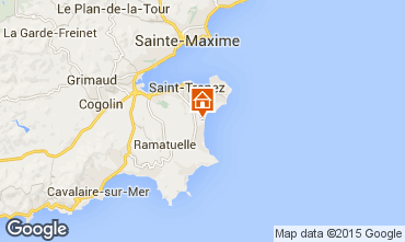 Map Saint Tropez Mobile home 97399