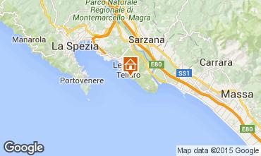 Map Lerici Apartment 55968