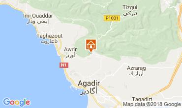 Map Agadir Villa 109071
