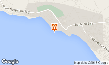 Map Saly Villa 73459