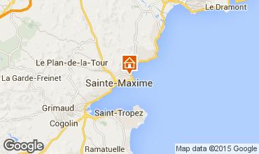 Map Sainte Maxime Villa 8541