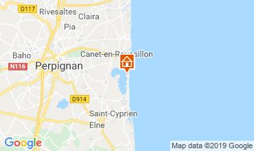 Map Canet-en-Roussillon Mobile home 118829