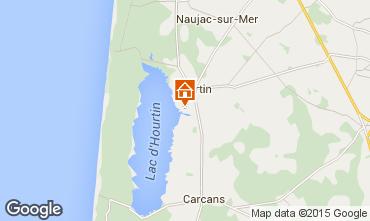 Map Hourtin House 85789