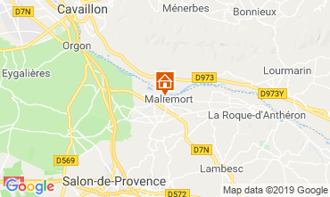 Map Aix en Provence House 91300
