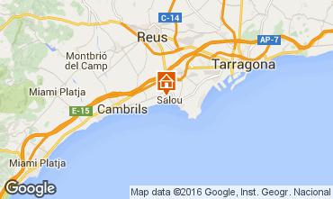 Map Salou Apartment 87132