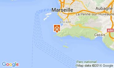 Map Marseille Apartment 104228