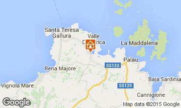 Map Santa Teresa di Gallura House 70193
