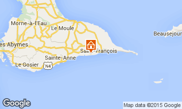 Map Saint Francois Villa 101258