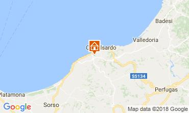 Map Castelsardo Apartment 96020
