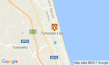 Map Tortoreto Apartment 110561