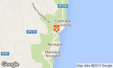 Map Santa Maria di Leuca Apartment 51532