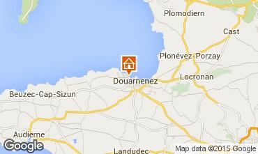Map Douarnenez Apartment 7368