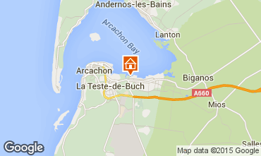 Map Arcachon Mobile home 76641