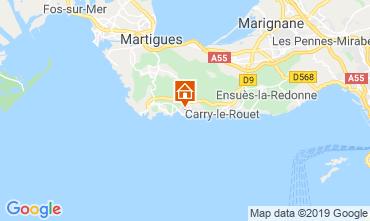 Map Marseille Apartment 84214
