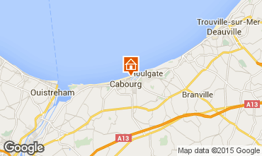 Map Cabourg Apartment 10777