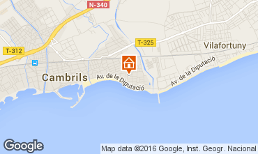 Map Cambrils House 102787