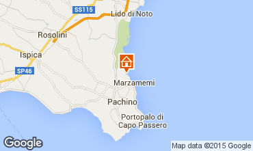 Map Marzamemi Villa 86008